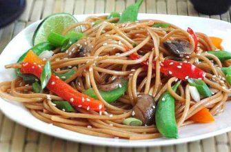 пшеничные спагетти
